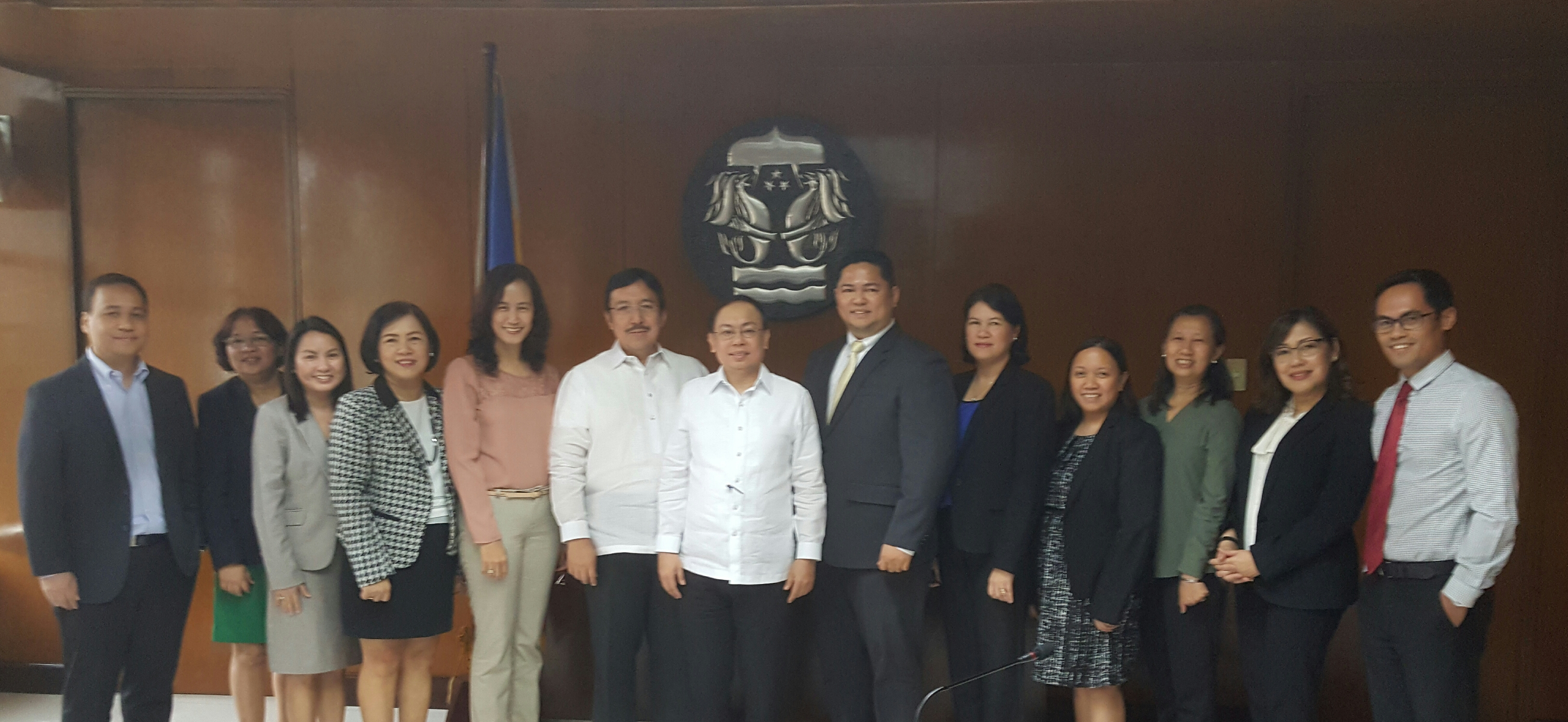 IC Courtesy Call of the 2017 ASP Board